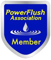 We are a member of the  Power Flush Association